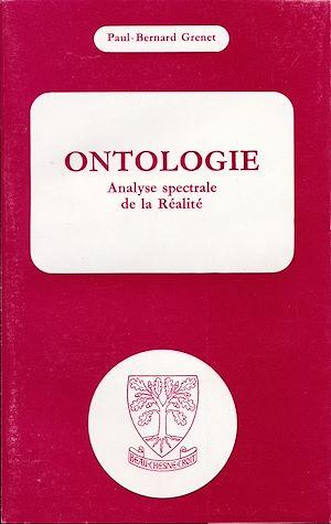 Téléchargez le livre :  Ontologie