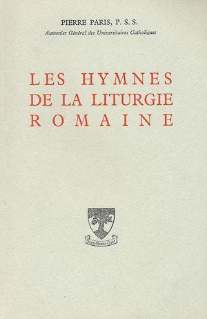 Téléchargez le livre :  Les hymnes de la liturgie romaine