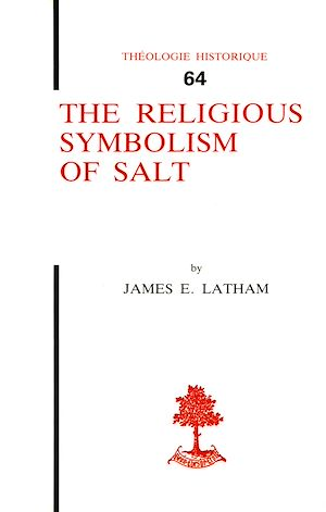 Téléchargez le livre :  The religious symbolism of salt