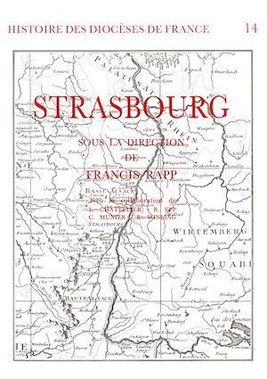 Téléchargez le livre :  Histoire des diocèses de France - Le diocèse de Strasbourg