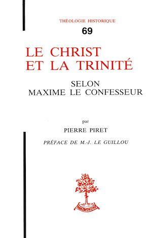 Téléchargez le livre :  Le Christ et la Trinité selon Maxime le Confesseur