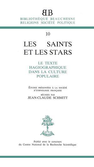 Téléchargez le livre :  Les saints et les stars