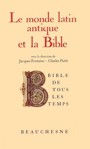 Téléchargez le livre :  Bible de tous les temps : Le monde latin antique et la Bible - 2