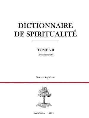 Téléchargez le livre :  Dictionnaire de spiritualité - Tome 7 - Deuxième partie