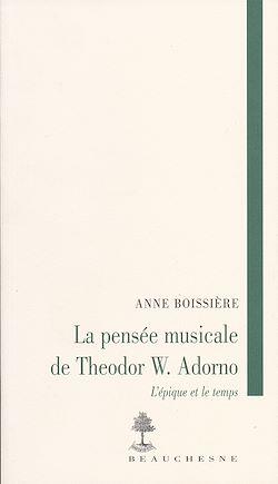 Téléchargez le livre numérique:  La pensée musicale de Theodor W. Adorno