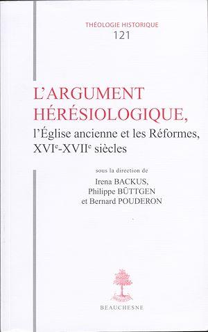 Téléchargez le livre :  L'argument hérésiologique