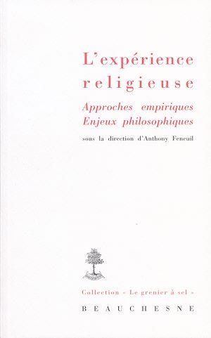 Téléchargez le livre :  L'expérience religieuse