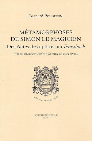 Téléchargez le livre :  Métamorphoses de Simon le Magicien