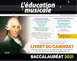 Téléchargez le livre :  Livret du candidat - Baccalauréat 2021 Éducation musicale