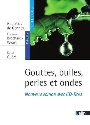 Téléchargez le livre :  Gouttes, bulles, perles et ondes