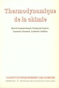 Télécharger le livre : Thermodynamique de la chimie