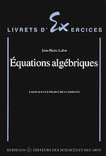 Télécharger le livre :  Equations algébriques