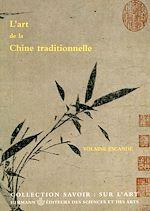 Télécharger le livre :  L'art de la Chine traditionnelle