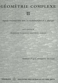 Télécharger le livre : Géométrie complexe II