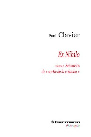 """Téléchargez le livre :  Ex Nihilo - Volume 2 - Les scénarios de """"Sortie de la création"""""""