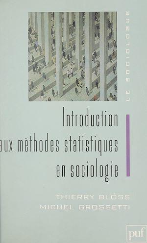 Téléchargez le livre :  Introduction aux méthodes statistiques en sociologie