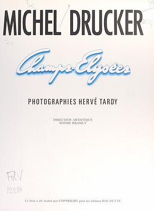 Téléchargez le livre :  Champs-Élysées