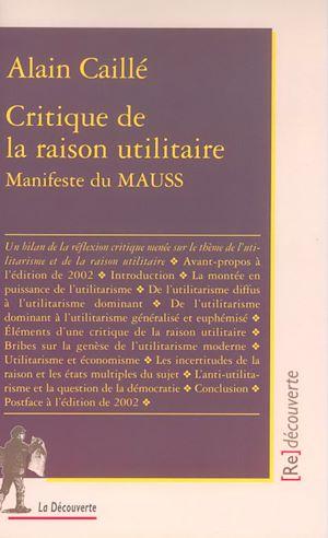 Téléchargez le livre :  Critique de la raison utilitaire