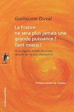 Télécharger cet ebook : La France ne sera plus jamais une grande puissance ? Tant mieux !
