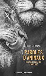 Télécharger le livre :  Paroles d'animaux