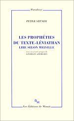 Télécharger le livre :  Les Prophéties du texte-Léviathan. Lire selon Melville