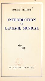 Télécharger cet ebook : Introduction au langage musical