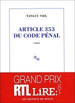 Télécharger cet ebook : Article 353 du code pénal