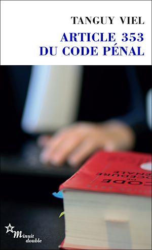 Téléchargez le livre :  Article 353 du code pénal