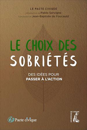 Téléchargez le livre :  Le choix des sobriétés