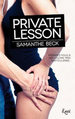 Télécharger le livre :  Private lesson