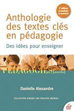 Télécharger cet ebook : Anthologie des textes clés en pédagogie