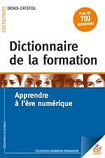 Télécharger le livre :  Dictionnaire de la formation