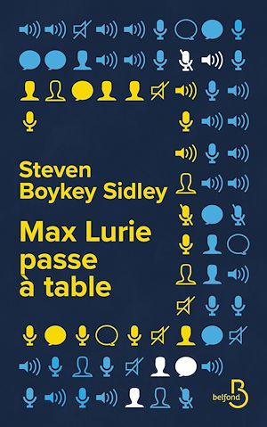 Téléchargez le livre :  Max Lurie passe à table