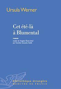 Télécharger le livre : Cet été-là à Blumental