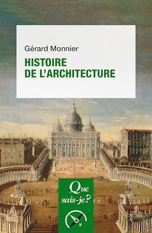 Téléchargez le livre :  Histoire de l'architecture
