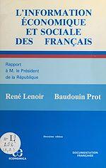 Télécharger le livre :  L'information économique et sociale des Français