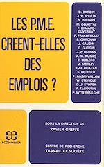Télécharger le livre :  Les P.M.E. créent-elles des emplois ?