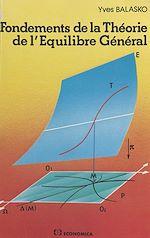 Télécharger cet ebook : Fondements de la théorie de l'équilibre général