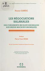 Télécharger le livre :  Les Négociations salariales : des fondements microéconomiques aux enjeux macroéconomiques