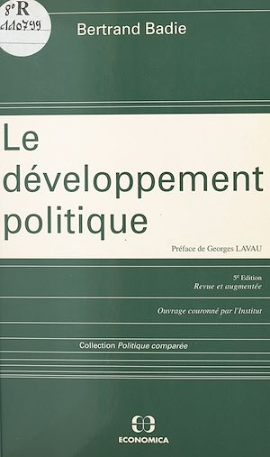 Téléchargez le livre :  Le développement politique