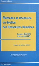 Télécharger cet ebook : Méthodes de recherche en gestion des ressources humaines