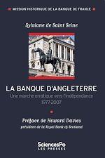 Télécharger le livre :  La Banque d'Angleterre