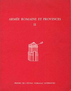 Téléchargez le livre numérique:  Armée romaine et provinces II