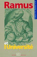 Télécharger le livre :  Ramus et l'Université