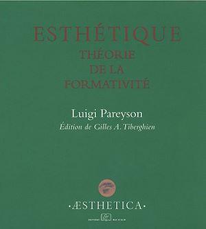 Téléchargez le livre :  Esthétique. Théorie de la formativité