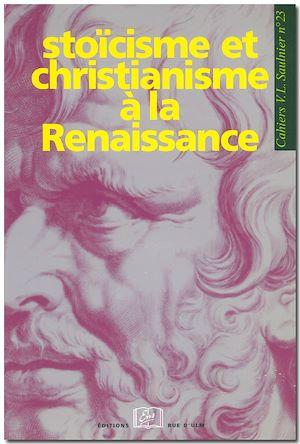 Téléchargez le livre :  Stoïcisme et christianisme à la Renaissance