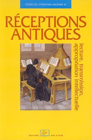 Téléchargez le livre :  Réceptions antiques