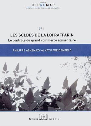 Téléchargez le livre :  Les soldes de la loi Raffarin : le contrôle du grand commerce alimentaire