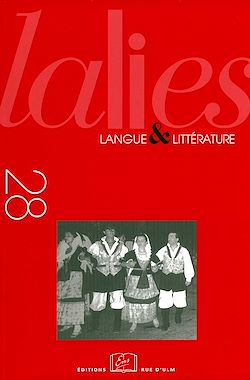 Téléchargez le livre numérique:  Lalies 28