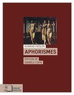 Télécharger le livre :  Aphorismes